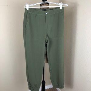 Sanctuary Olive Green Jogger Pants NWT S